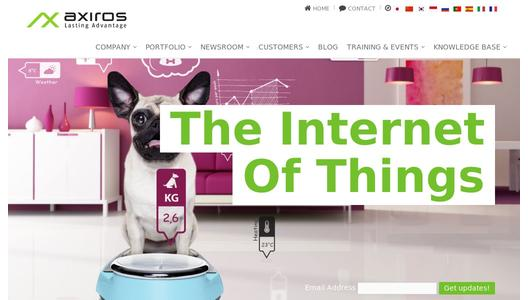 "Weitere Infos zu ""Announcing Axiros AXPERIENCE 2.0:  The PaaS for the Internet of Things"""