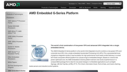 "Weitere Infos zu ""AMD Embedded G-Series APU Platform Adds Real-Time Operating System Support with INTEGRITY from Green Hills Software"""