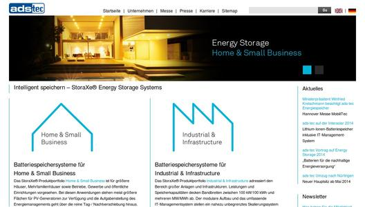 ads-tec Energy Storage Systems