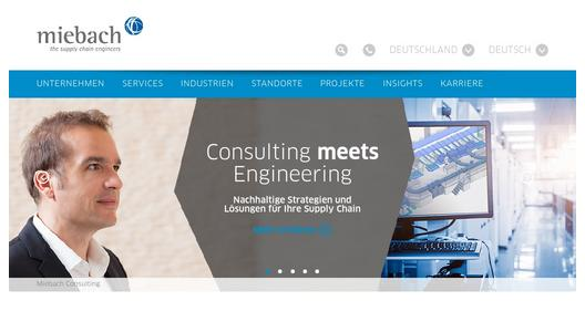 "Weitere Infos zu ""Miebach Consulting opens new offices in Europe and in Middle East"""