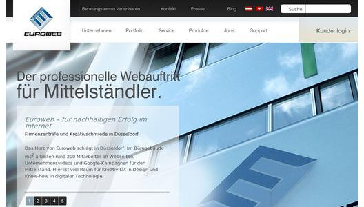 Website Euroweb Internet GmbH