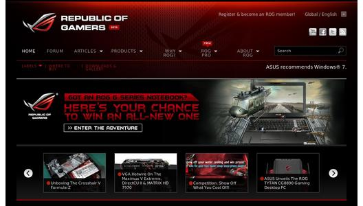 "Weitere Infos zu ""The Rise of new ASUS Republic of Gamers Legends"""