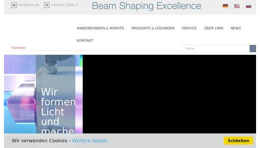 "Weitere Infos zu ""LIMO - 25 years of excellence in beam shaping"""