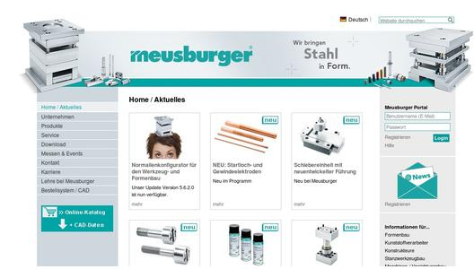 "Weitere Infos zu ""Meusburger launches its new catalogue Punching Tool Construction 2014"""