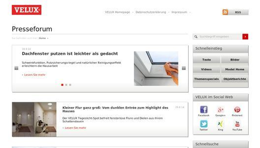 dachfenster putzen ist leichter als gedacht velux deutschland gmbh pressemitteilung. Black Bedroom Furniture Sets. Home Design Ideas