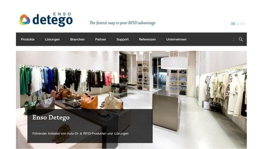 Enso Detego's website