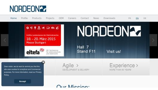 "Weitere Infos zu ""Nordeon-Group invests in the growth market architectural lighting"""
