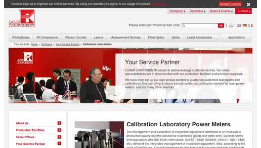"Weitere Infos zu ""Calibration Service for Laser Power and Energy Detectors"""