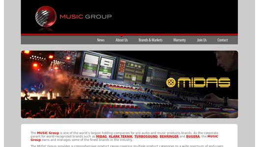 "Weitere Infos zu ""MUSIC Group Forms New Consumer Electronics Division"""