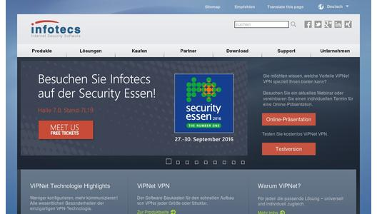"Weitere Infos zu ""Infotecs is to show secure remote access control and video surveillance at Security Essen"""