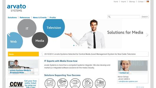 Website arvato Systems S4M