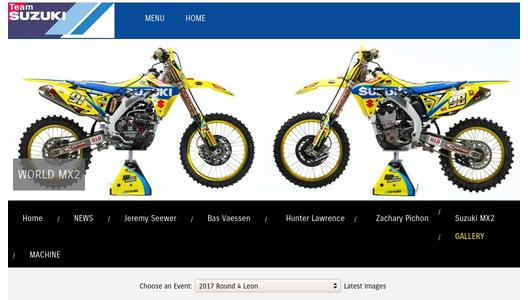 "Weitere Infos zu ""Seewer Extends Championship Lead for Suzuki MX2"""