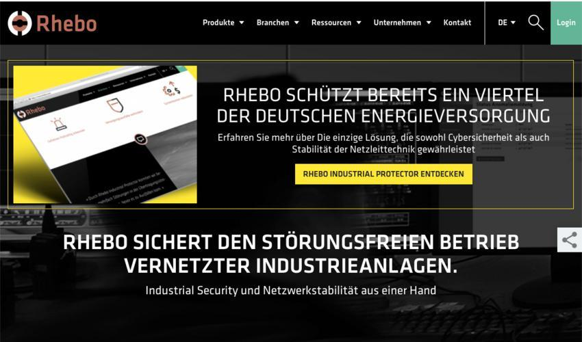 Rhebo Website