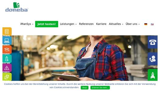 domeba - Anbieter professioneller HSQE Compliance-Management-Software