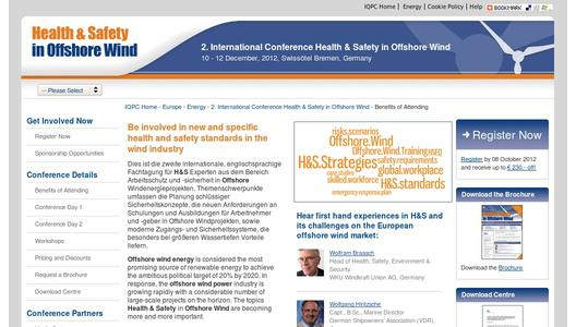 "Weitere Infos zu ""Health & Safety in Offshore Wind"""