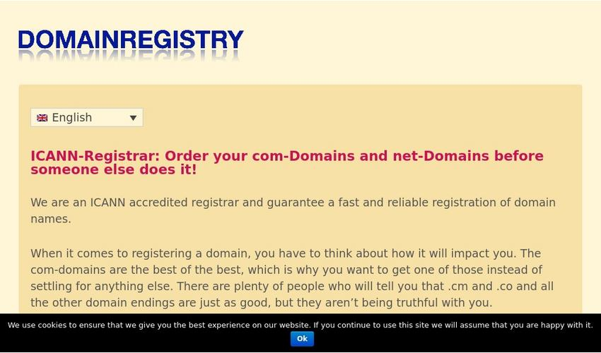 Com-Domain - a good choice for your name