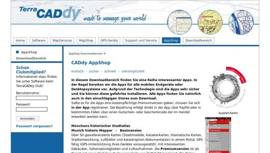 CADdy Mapservices