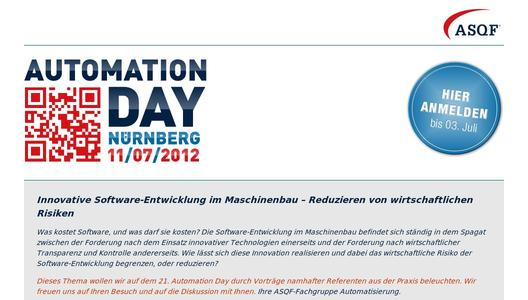 21. Automation Day in Nürnberg