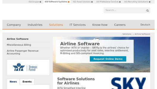Revenue Accounting for Airlines by ISO Software Systeme