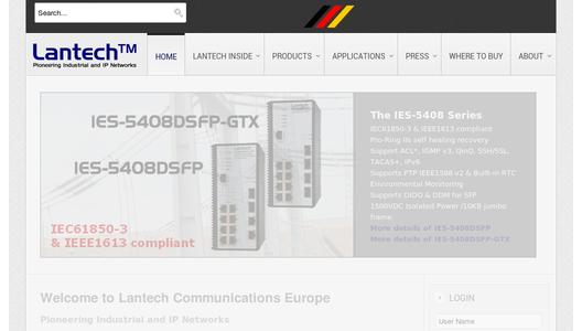 "Weitere Infos zu ""New Lantech EN 50155 switch series coming in April"""