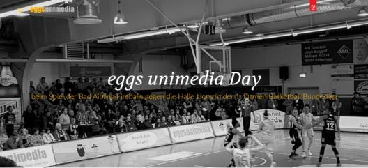 Teamwork im Basketball und in der IT - eggs unimedia Day im Firedome Bad Aibling