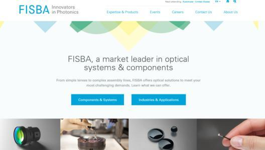 FISBA Advanced Optical Components and Customized Systems