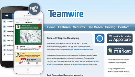 Teamwire: Secure Enterprise Messaging