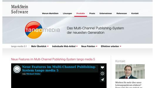 Multi-Channel Publishing-System tango media