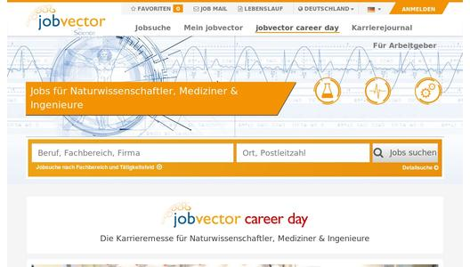 "Branchenspezifisches Recruiting Event ""jobvector career day"""