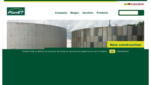 PlanET Biogas UK Homepage