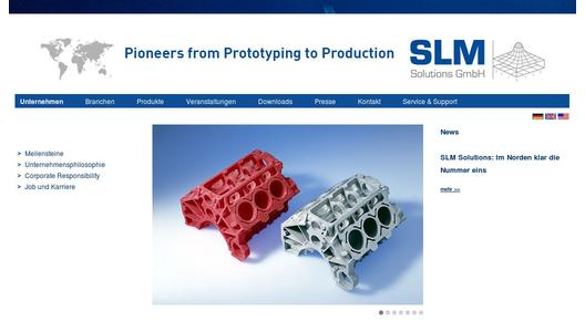 "Weitere Infos zu ""SLM Solutions GmbH - cooperation with EADS Innovation Works"""