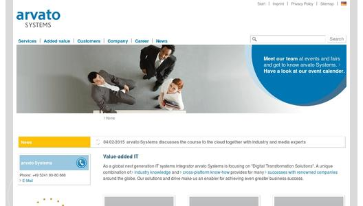 website arvato Systems