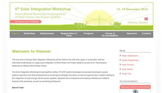 "Weitere Infos zu ""Conference Double on Grid Integration of Wind and Solar Power"""