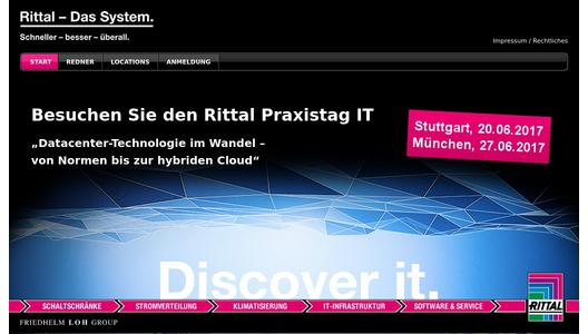 "Weitere Infos zu ""Industry event for IT decision-makers"""