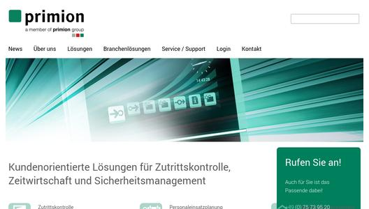"Weitere Infos zu ""prime Visit: Quick, efficient visitor administration - even in an emergency"""