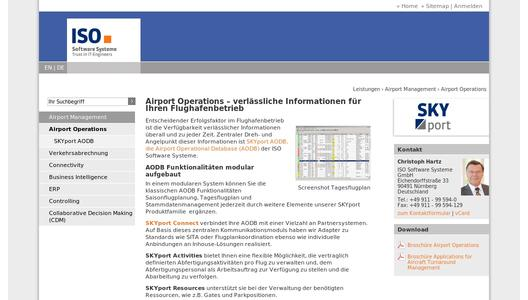 Airport Management von ISO Software Systeme