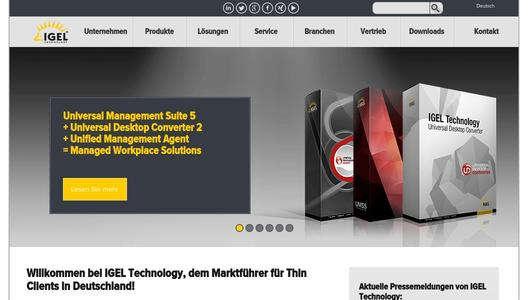 IGEL Technology - Thin Client Software