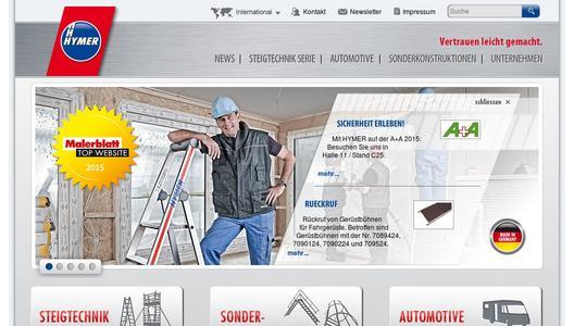 Allroundtalente fürs Treppenhaus - HYMER-Leichtmetallbau GmbH & Co ...