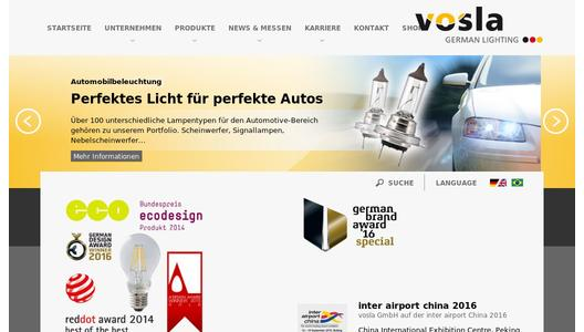 "Weitere Infos zu ""vosla puts more light on the road"""