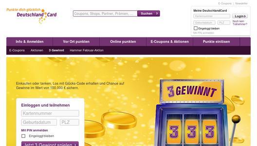 www deutschlandcard de gewinner
