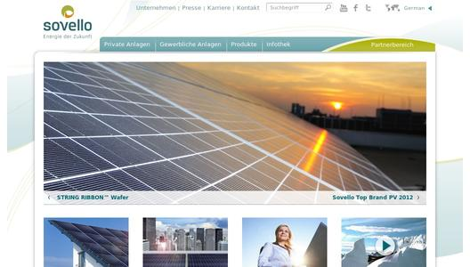 "Weitere Infos zu ""Solar Specialist Sovello Launches International M&A-Process"""
