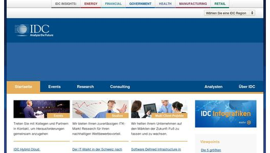 "Weitere Infos zu ""IDC Health Insights Bolsters European Team"""
