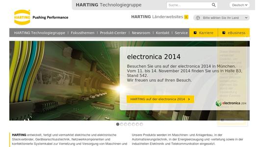 "Weitere Infos zu ""HARTING Electronics receives ""Factory of the Year"" award"""