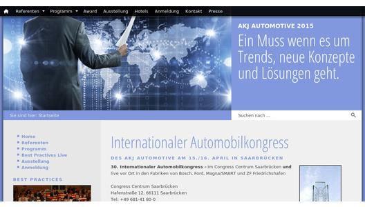 30. AKJ-Jahreskongress am 15./16. April 2015