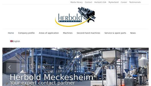 "Weitere Infos zu ""Herbold Meckesheim will be Present at the IFAT 2014 (05.05.-09.05.2014 )  in Hall C1/ 105 : The Main Topic is Energy Saving in Plastics Recycling"""