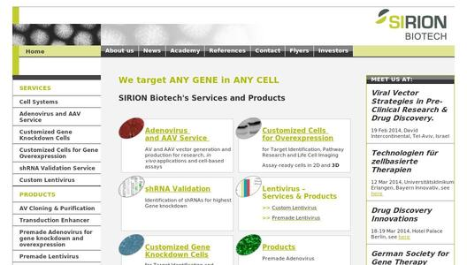 "Weitere Infos zu ""Horizon Discovery Signs Supply and Distribution Agreement with SIRION Biotech"""