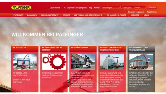 "Weitere Infos zu ""Product launch of new PALFINGER SANY Rough Terrain Crane Series"""
