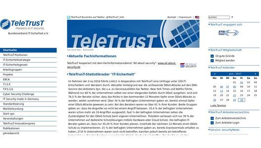 german brand award f r teletrust vertrauenszeichen it. Black Bedroom Furniture Sets. Home Design Ideas