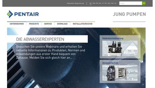 Der Schatz in des Klempners Lager - Pentair JUNG PUMPEN GmbH ...