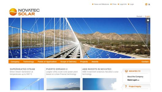 "Weitere Infos zu ""Novatec Solar appoints Andreas Wittke as CEO"""